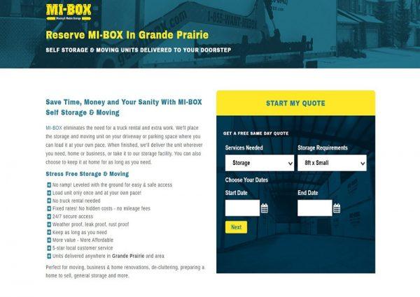 Mi-BOX Grande Prairie